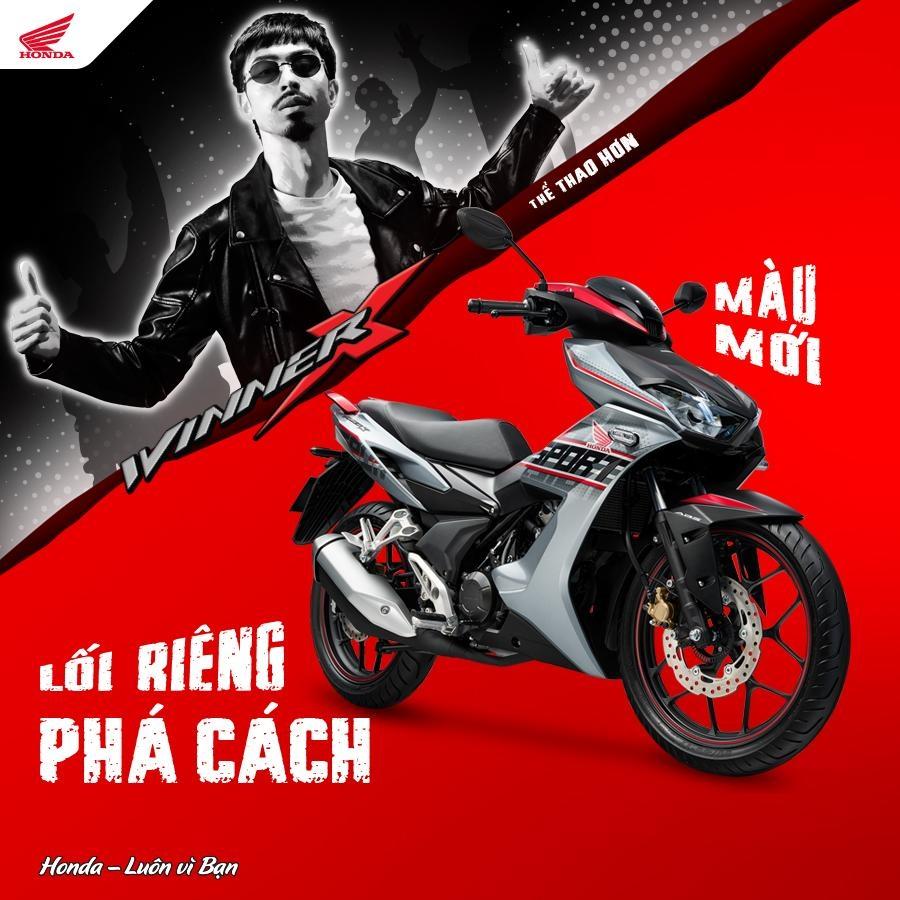 Honda Việt Nam giới thiệu phiên bản Thể thao ABS tem màu mới