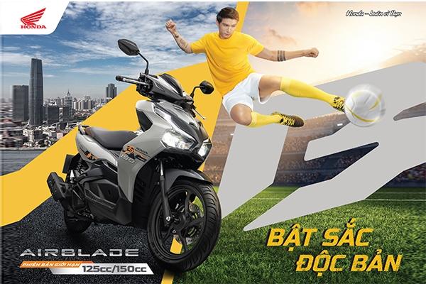 Honda Việt Nam giới thiệu phiên bản giới hạn Honda Air Blade 150cc/125cc - Bật sắc độc bản-